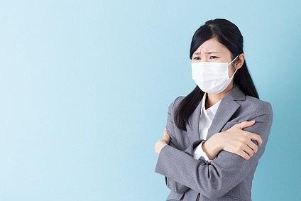 風邪_女性